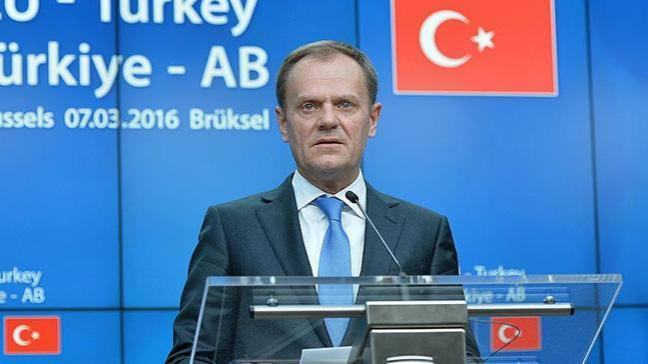 AB Konseyi Başkanı Tusk: Türkiye'yle ilişkilerimizi geliştirebiliriz