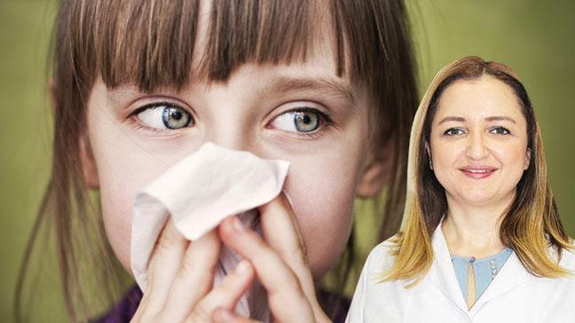 Çocuklarda grip tehlikeli