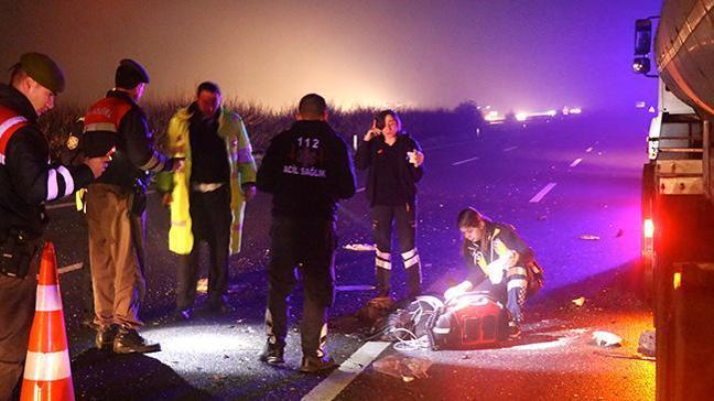Düğünden dönen aile kaza yaptı: 2 ölü, 3 yaralı