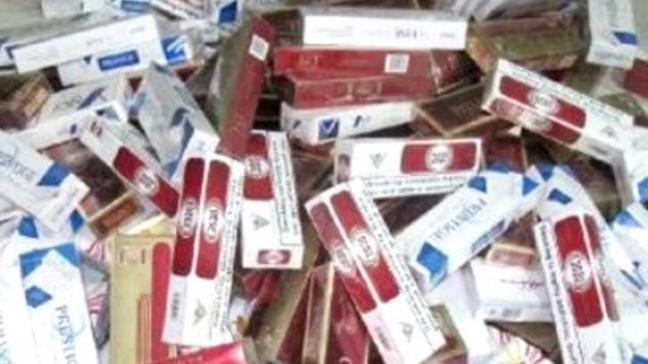 Şırnak'ta 312 bin TL değerinde kaçak sigara ele geçirildi