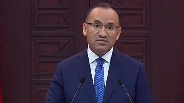 Bozdağ: Türkiye'ye verdikleri sözü tutmayanın bize ders vermeye hakkı yok