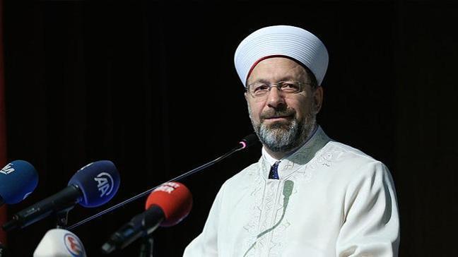 Diyanet İşleri Başkanı Prof. Dr. Erbaş: İslamofobi, mezhepçilik yapmayalım