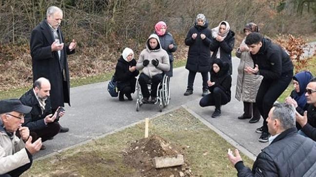 36 yıl sonra cenazesi Almanya'dan nakledildi