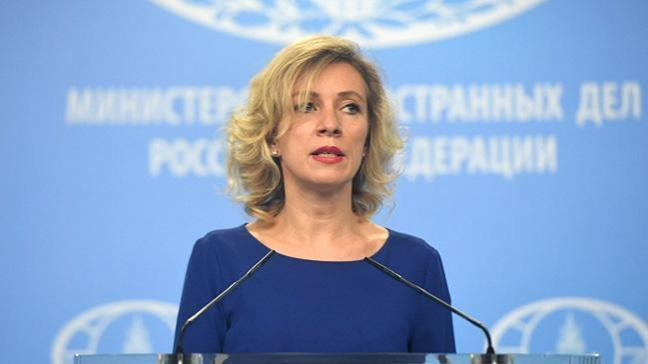 Zaharova: Rus diplomatların sınır dışı edilmesine cevap verilecek