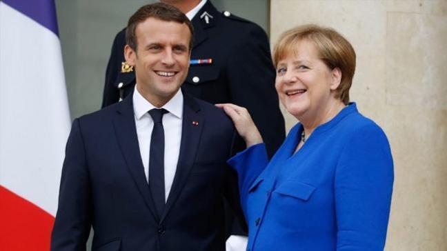 Almanya ve Fransa, Netanyahu ile yaptıkları görüşmede, İsrail'in yanında oldukları mesajını verdi