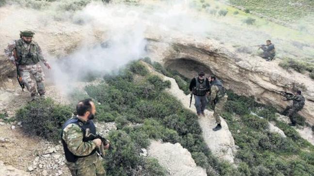 Özel Kuvvetler Afrin'de didik didik terörist arıyor