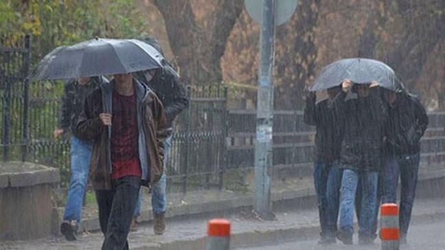 Meteoroloji'den bazı bölgeler için sağanak yağış uyarısı