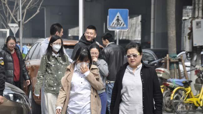 Çin'de turuncu alarm verildi! Halka mecbur olmadıkça sokağa çıkmama uyarısı yapıldı