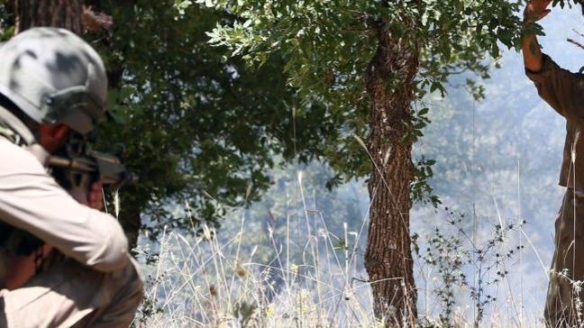 Türkiye'ye geçmeye çalışan bir terörist Hakkari sınırında yakalandı