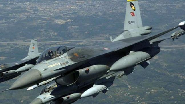 Türk Hava Kuvvetleri PKK/YPG'nin mevzilerini vuruyor