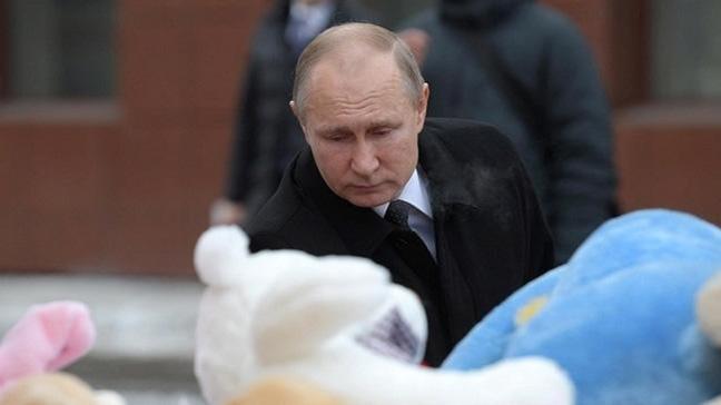 Putin'den yanan AVM'ye ziyaret: İnsanlarımızı ihmal suçu dikkatsizlik yüzünden kaybediyoruz