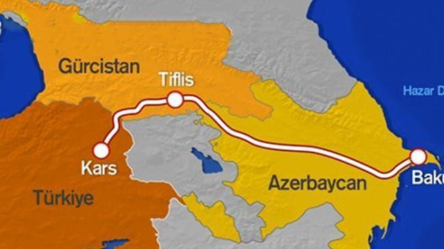 'Bakü-Tiflis-Kars demiryolu Trans Hazar koridoruna ivme  kazandırdı'