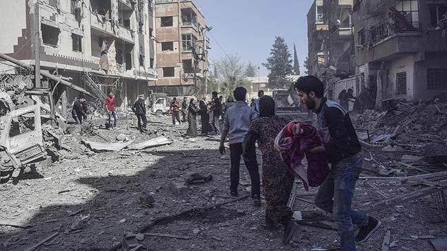Doğu Guta'da bir ayda bin 433 sivil öldürüldü