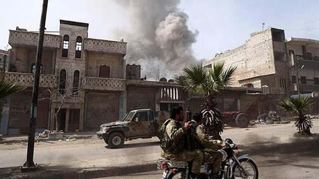 Afrin'de terör örgütü PKK/YPG'nin tuzakladığı bomba patladı 3 sivil hayatını kaybetti