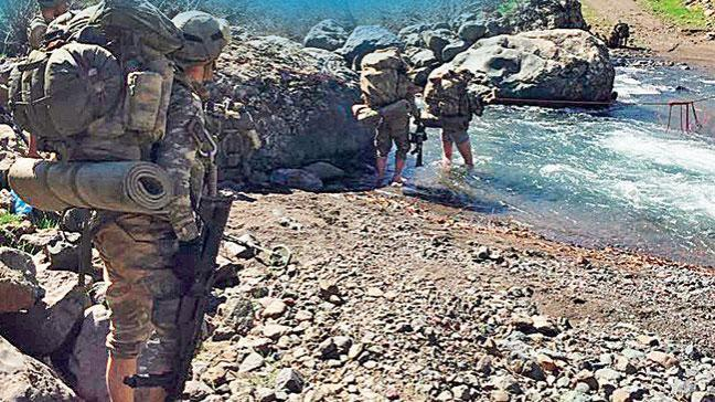 Kuzey Irak sınırımıza tampon bölge kuruldu