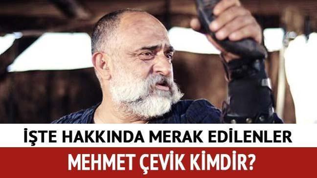 """Mehmet Çevik kimdir, oynadığı diziler neler"""" Mehmet Çevik Çiftlik bank son dakika!"""