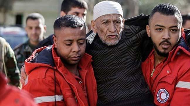 Doğu Guta'dan tahliye edilen 3 binden fazla sivil Hama'nın batı kırsalına vardı