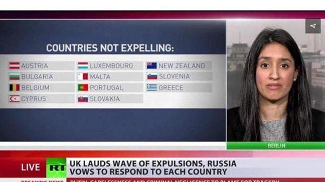 Rus kanalında KKTC bayrağının yayınlanması Rumları çıldırttı