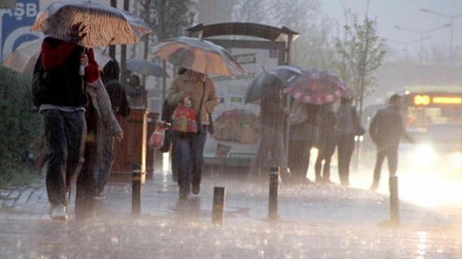 Marmara'da sağanak uyarısı