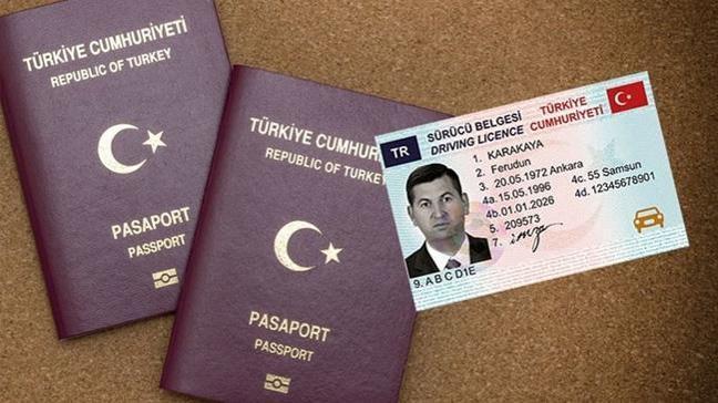 Pasaport ve ehliyette yeni dönem 2 Nisan'da başlıyor