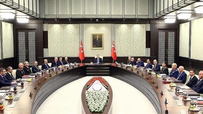 MGK bildirisi açıklandı: Türkiye inisiyatif kullanacak