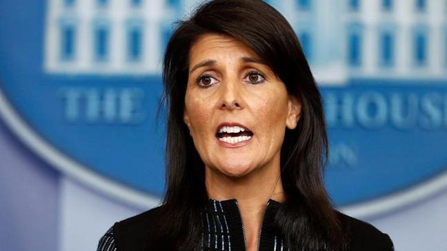ABD'nin BM Daimi Temsilcisi Haley: Dörtte birinden fazlasını karşılamamalı