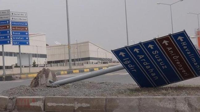Doğu Anadolu Bölgesi'nde kuvvetli fırtına ve çamur şeklinde yağış uyarısı yapıldı
