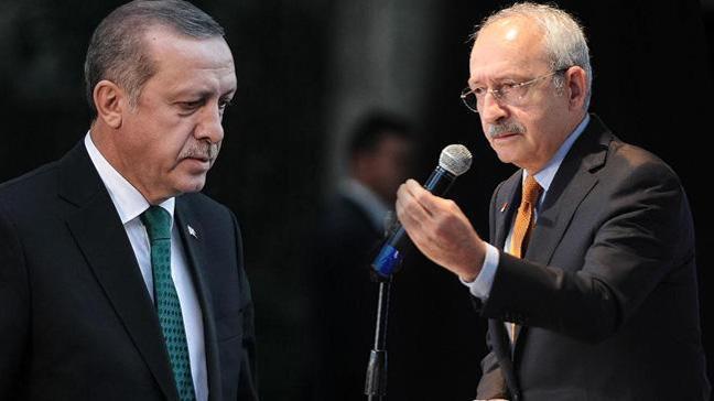 Cumhurbaşkanı Erdoğan, CHP Lideri Kılıçdarğlu'na 250 bin TL'lik tazminat davası açtı