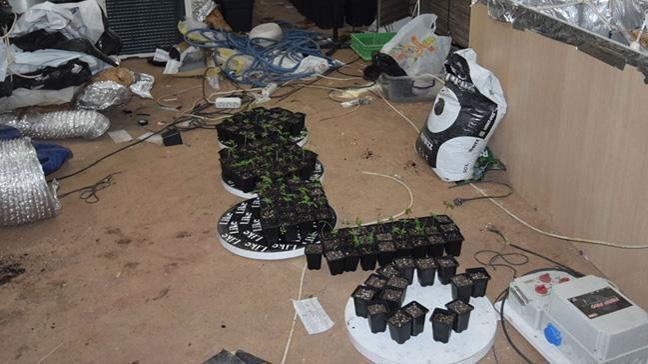 Polis, Arnavut Met Kanani'nin İstanbul'daki uyuşturucu deposunu da buldu