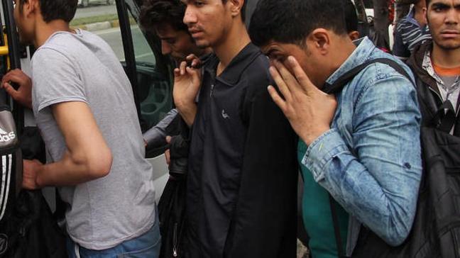 Edirne'de 16 kaçak yakalandı