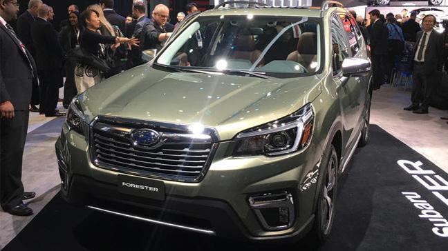 Subaru Forester yeni yüzüyle ortaya çıktı