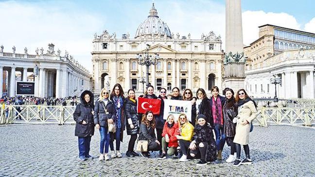 TEMA Vakfı Roma'da