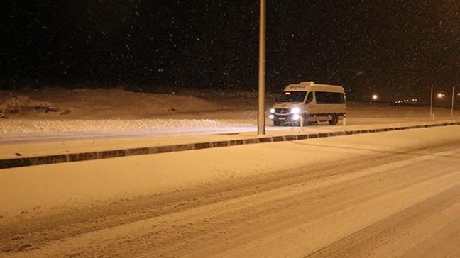Erciyes'te kar sürprizi