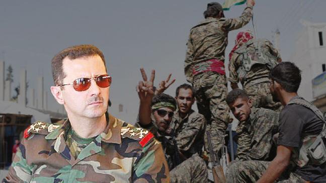 Esed gözünü terör örgütü PKK/PYD'nin kalesi Rakka'ya dikti
