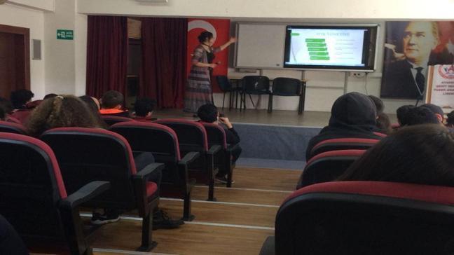 Ümraniye'deki öğrencilere çevre eğitimi!
