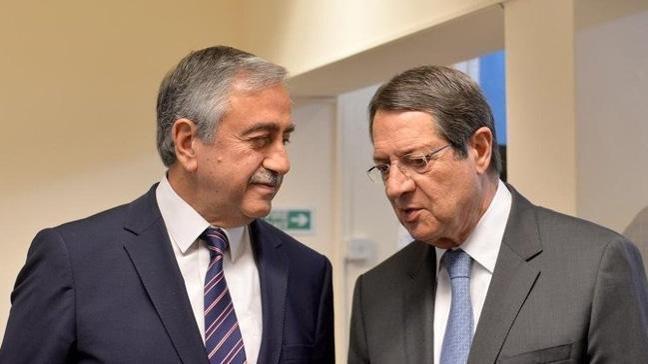 KKTC Lideri Akıncı ile Anastasiadis, 16 Nisan'da görüşecek