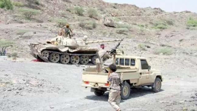 Yemen'de Husilere ait silah deposu imha edildi
