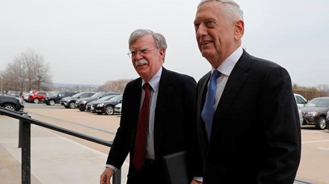 ABD Savunma Bakanı Mattis, Bolton'a takıldı: Şeytanın vücut bulmuş halisin diye duydum