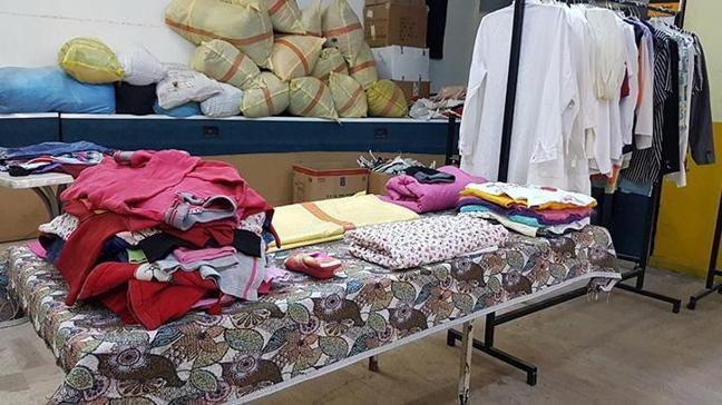 Samsun'da bedava giysi dağıtılan Sosyal Market soyuldu