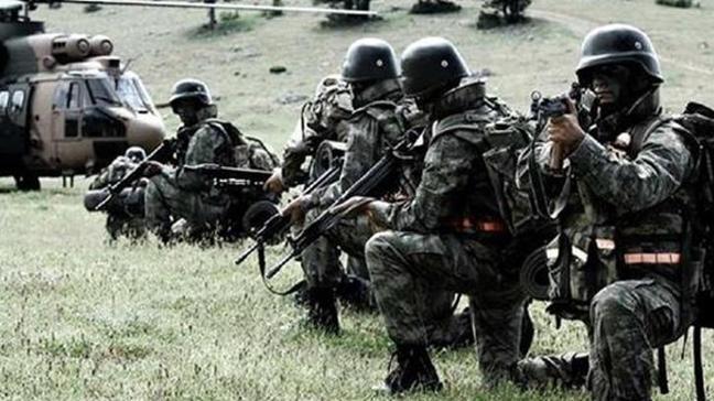 6 güvenlik korucusunu şehit edip, 3 güvenlik korucusu ve 4 askerimizi yaralayan teröristler öldürüldü