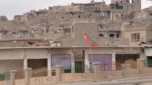 Terör örgütü PKK'nın Sincar'daki varlığı görüntülendi