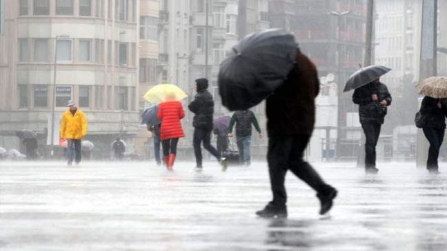 Türkiye, yarın öğle saatlerinden itibarenserin ve yağışlı havanın etkisine girecek