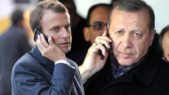 Fransız basını: Macron, Erdoğan'la karşı karşıya gelemez