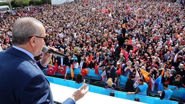 Cumhurbaşkanı Erdoğan: CHP dediğiniz zaman akla çöp gelir