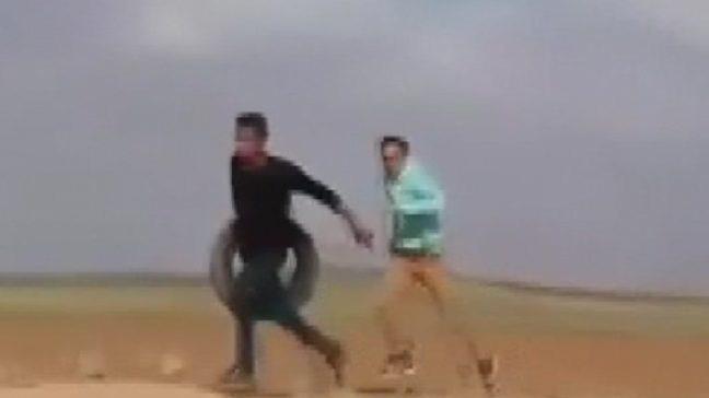 İsrail askerlerinin silahsız bir Filistinliye infazı kameraya yakalandı