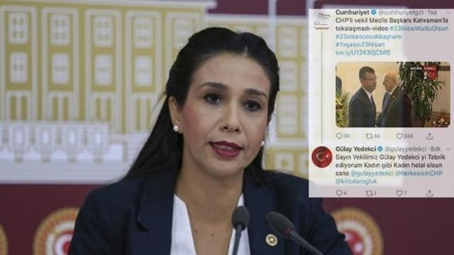 CHP'li Yedekci sosyal medya hesaplarını karıştırınca rezil oldu