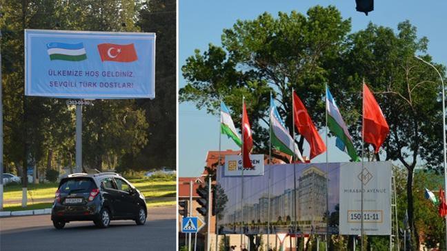 Özbekistan Cumhurbaşkanı Erdoğan'ın ziyaretine hazır