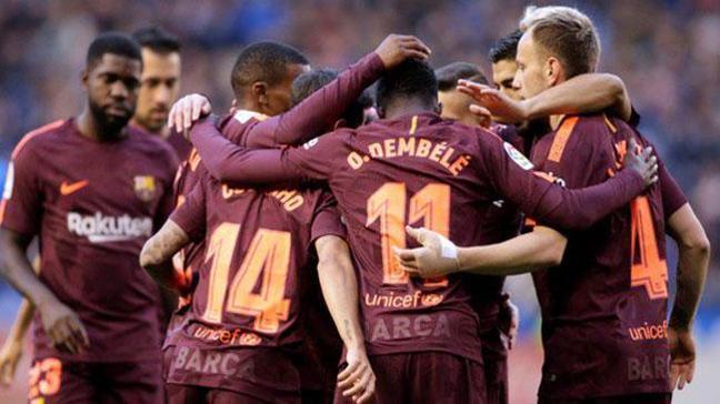 Barcelona, La Liga'da 25. şampiyonluğunu ilan etti