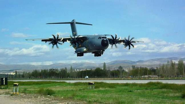 Genelkurmay Başkanlığı, A400M Atlas uçağının altıncısının da envantere alındığını açıkladı