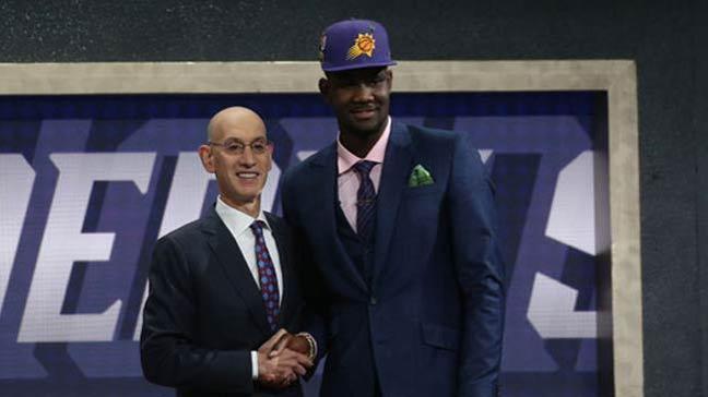 NBA draftının 1 numarası Ayton!